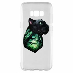 Чохол для Samsung S8+ Panther and Forest