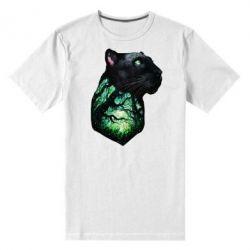 Чоловіча стрейчева футболка Panther and Forest