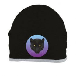 Шапка Panther on gradient background