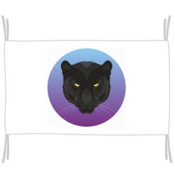 Прапор Panther on gradient background