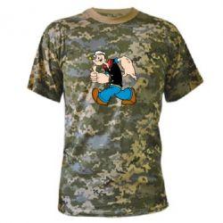Камуфляжная футболка Papay - FatLine