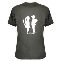 Камуфляжная футболка Пара Bancsy - FatLine