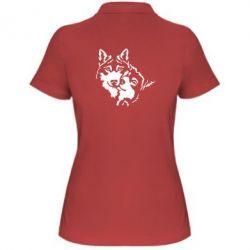 Женская футболка поло Пара *для темной основы (инверсия)