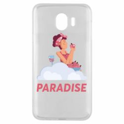 Чехол для Samsung J4 Paradise apple and wine