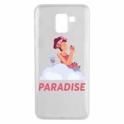 Чехол для Samsung J6 Paradise apple and wine