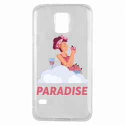 Чехол для Samsung S5 Paradise apple and wine