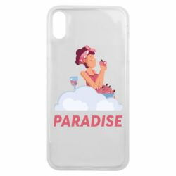Чехол для iPhone Xs Max Paradise apple and wine