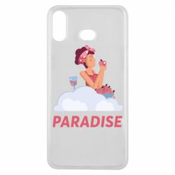 Чехол для Samsung A6s Paradise apple and wine