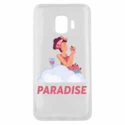 Чехол для Samsung J2 Core Paradise apple and wine