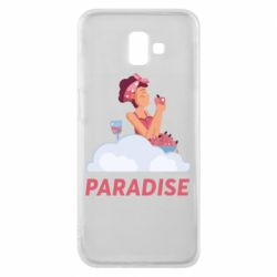 Чехол для Samsung J6 Plus 2018 Paradise apple and wine
