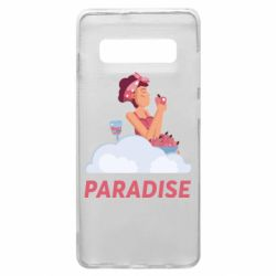 Чехол для Samsung S10+ Paradise apple and wine