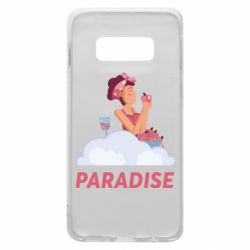 Чехол для Samsung S10e Paradise apple and wine