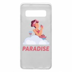 Чехол для Samsung S10 Paradise apple and wine