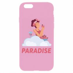 Чехол для iPhone 6 Plus/6S Plus Paradise apple and wine
