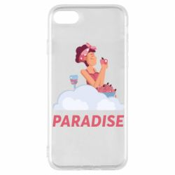 Чехол для iPhone 7 Paradise apple and wine