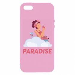 Чехол для iPhone5/5S/SE Paradise apple and wine