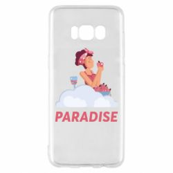 Чехол для Samsung S8 Paradise apple and wine