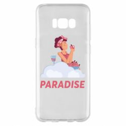 Чехол для Samsung S8+ Paradise apple and wine
