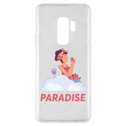 Чехол для Samsung S9+ Paradise apple and wine