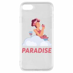 Чехол для iPhone 8 Paradise apple and wine