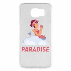 Чехол для Samsung S6 Paradise apple and wine