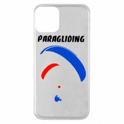 Чехол для iPhone 11 Paragliding