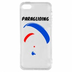 Чехол для iPhone5/5S/SE Paragliding