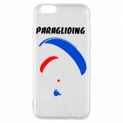 Чехол для iPhone 6/6S Paragliding