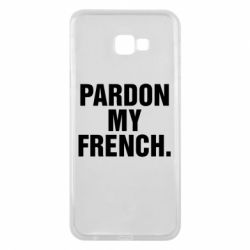 Чехол для Samsung J4 Plus 2018 Pardon my french.