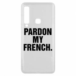 Чехол для Samsung A9 2018 Pardon my french.