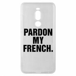 Чехол для Meizu Note 8 Pardon my french. - FatLine