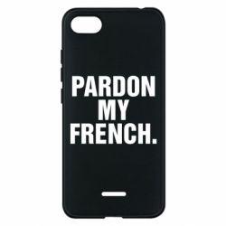 Чехол для Xiaomi Redmi 6A Pardon my french. - FatLine