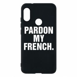 Чехол для Mi A2 Lite Pardon my french. - FatLine