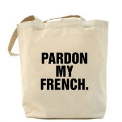 Сумка Pardon my french.