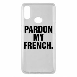 Чехол для Samsung A10s Pardon my french.