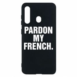 Чехол для Samsung M40 Pardon my french.