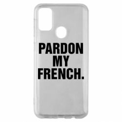 Чехол для Samsung M30s Pardon my french.