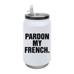 Термобанка 350ml Pardon my french.
