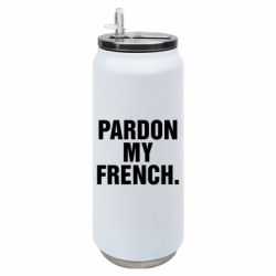 Термобанка 500ml Pardon my french.