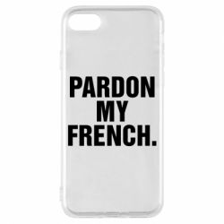 Чехол для iPhone 8 Pardon my french.