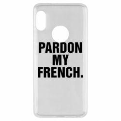 Чехол для Xiaomi Redmi Note 5 Pardon my french. - FatLine