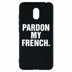Чехол для Meizu M6 Pardon my french. - FatLine