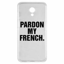 Чехол для Meizu M6s Pardon my french. - FatLine