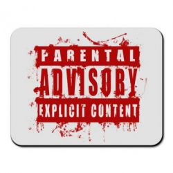 Коврик для мыши Parental Advisory Blood - FatLine