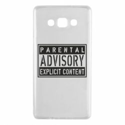 Чохол для Samsung A7 2015 Parental Advisory