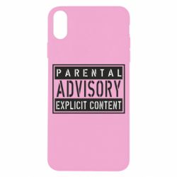 Чохол для iPhone X/Xs Parental Advisory