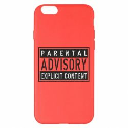 Чохол для iPhone 6 Plus/6S Plus Parental Advisory