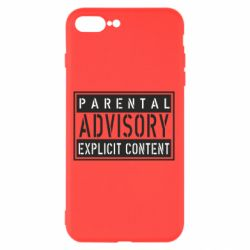 Чохол для iPhone 8 Plus Parental Advisory