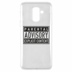 Чохол для Samsung A6+ 2018 Parental Advisory