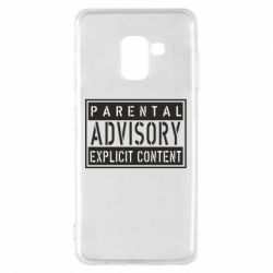 Чохол для Samsung A8 2018 Parental Advisory